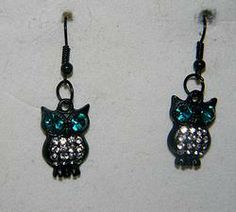 Owl Earrings visit ismchick.com Free, Fast shipping and Discounts available.