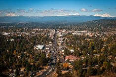 What to do in Bend, Oregon, which has the snow-capped Mount Bachelor and Three Sisters—three volcanic peaks in the Cascade Volcanic Arc—in its horizon.