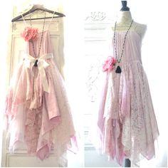 Coachella Slip dress, Rose Quartz lace dress, Boho dresses, Bohemian gypsy, Electric daisy  Music Festival Clothing, True rebel clothing