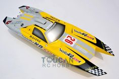 Cheap racing boat, Buy Quality rc racing boat directly from China boat rc Suppliers: ARTR Fiberglass RC Racing Boat Engine Water Cooling Sys Exhaust' Sys Yellow Gas Rc Boats, Speed Boats, Catamaran, Rc Kits, Glass Boat, Boat Propellers, Electric Boat, Electronic Parts, Water Cooling