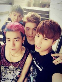 "HIGH4 - recently debuted with ""Not Spring, Love, or Cherry Blossoms"" (feat. IU) I love them already!"