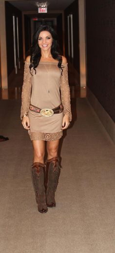 Tiffany M. Rockin' @theangelsunion at NFR!