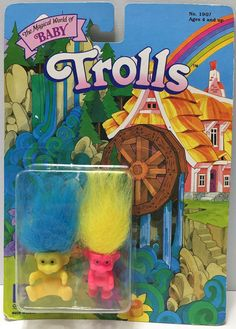 1992 Creata International The Magical World of Baby Trolls This item is NOT in Mint Condition and is in no way being described as Mint or even Near Mint. Our toys have not always lead the perfect life