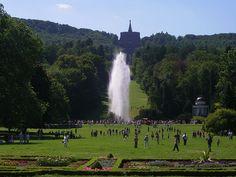 Bergpark Wilhelmshöhe is a unique landscape park in Kassel,