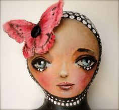 beautiful faced doll