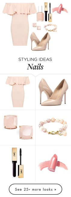 """""""Outfit #787"""" by ivanna1920 on Polyvore featuring WearAll, Massimo Matteo, Elizabeth Arden, Kate Spade and Essie"""