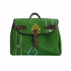 // vintage marrakech woven bag.