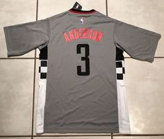 7f4cf281f Buy adidas Ryan Anderson Houston Rockets Gray Alternate Replica Jersey  online