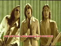 A 90s Indonesian band with the look, sound and feel of 70s - Naif - Aku Rela (Official Lyric Video)