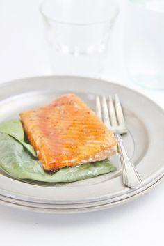 Brown Sugar Citrus Glazed Salmon www.bellalimento.com #seafood #salmon #citrus #recipe