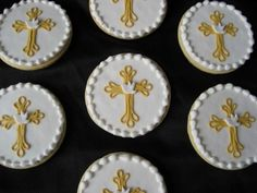 Quill Cross Cookies