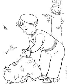 Free printable tree coloring page for kid