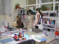 Antigua Biblioteca (antes de 2009). Despacho de Información y préstamo.