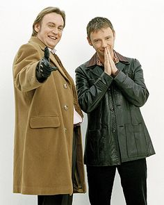 Life on Mars - Gene (Philip Glenister) and Sam (John Simm) Mars Tv Show, Detective, John Simm, Uk Tv, Life On Mars, British Actors, American Actors, Kids Tv, Great Tv Shows