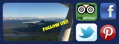 Follow Us! #glacierair #facebook #twitter #pinterest #tripadvisor Capital Of Canada, Outdoor Recreation, British Columbia, Trip Advisor, Things To Do, Facebook, Twitter, Things To Doodle, Things To Make