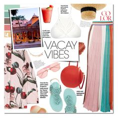 """Vacay Vibes"" by mery90 ❤ liked on Polyvore featuring Missoni, Unützer, Clare V., Mother of Pearl, Disney, Rejina Pyo, Jagger, WithChic, TONYMOLY and summerstyle"