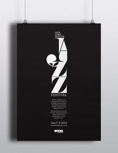 New Your Winter Jazz Festival - Posters  Promotion by Luke Syrylo, via Behance
