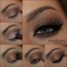 We are in LOVE with this natural smokey eye look by Theamazingworldofj! LIKE if you agree!