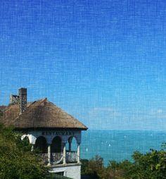A restaurant with a view... Tihany, Balaton Lake - Hungary