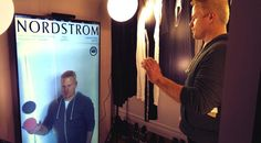 Virtual Style Sense Virtual Dressing Room launch at NRF with Samsung & Nordstrom.