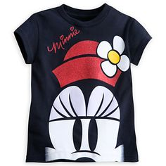 Minnie Mouse Signature Tee for Girls | Tees, Tops & Shirts | Disney Store