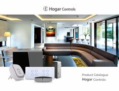 Hogar Controls, Advanced wireless smart home system. Wall Pad, Home Controller Mini, Hotel box to fit small, med, large to extreme large smart homes.