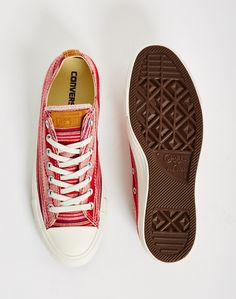 0170fca540b3b1 Converse Crafted Textile Chuck Taylor All Star Low Red - SALE at The Idle  Man