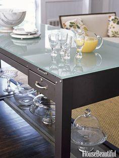 Use a Table #kitchenislands