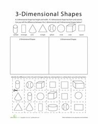 math worksheet : 1000 images about math shapes on pinterest  3d shapes solid  : 2d And 3d Shapes Worksheets For Kindergarten
