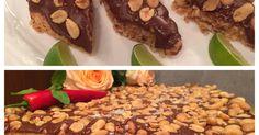 Cowboy-kake med peanøtter, sjokolade og kjeks. Dette er en av Wenches favorittkaker. Den er enkel å lage og smaker fabelaktig. Kaken kan gjerne fryses French Toast, Oven, Pudding, Bread, Cakes, Baking, Decoration, Breakfast, Tips