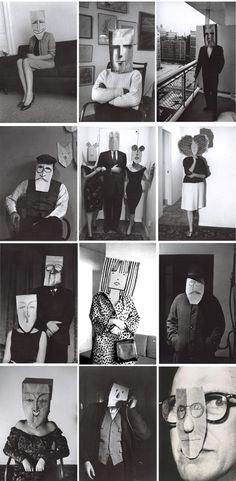 masquerade by saul steinberg and inge morath Theme Design, Inge Morath, Rebecca Miller, Saul Steinberg, Creation Art, Art Brut, Art Sculpture, Portraits, Photography Projects