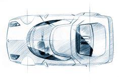 sketch Lancia - Statos by Pininfarina