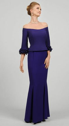 Daymor Couture Mother of the Bride Dress with Shawl 405 at frenchnovelty.com