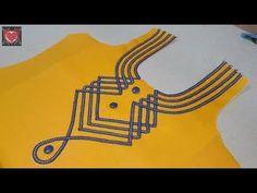 Stylish Neck Designs for Kurti Churidhar Neck Designs, Salwar Neck Designs, Churidar Designs, Neck Designs For Suits, Kurta Neck Design, Neckline Designs, Dress Neck Designs, Fancy Blouse Designs, Bridal Blouse Designs