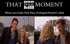 That One Tree Hill moment, omg I just now realized that!!