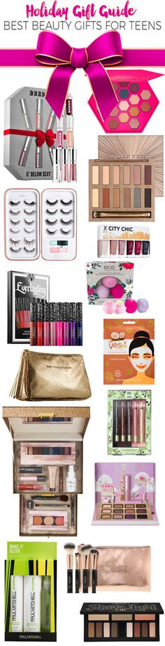 Holiday Gift Guide 2016 Best Beauty Gifts For Teens Christmas Presents