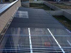 Ultraspan roof cover by Kieren