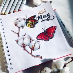 Hello, May. Please, be good ------------------------ картинка заряжена на тепло, солнце и положительные эмоции. Этого сейчас немного не хватает, если честно. #by4erta #topcreator #ilovesketchmarker #sketchmarkersclub