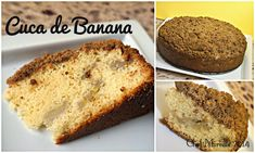 Banana cake from the south of Brazil.  German-influenced.  Like was often served in the school where I worked in Joinville, Santa Catarina.  OMG yum!!!!