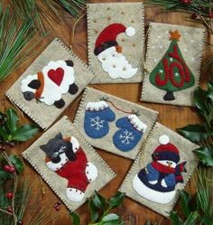 Love this and so simple...Wool Felt Central - Wool Felt Patterns