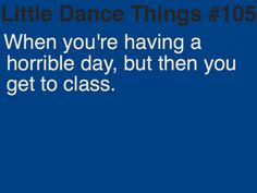 my track coach made me go take a few ballet classes because i was so stressed out. it totally made me feel better. <3