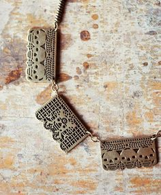 Papel Picado Inspired Necklace....LOVE
