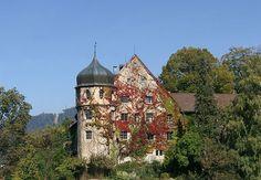 Gourmet Hotel Deuring Schlössle in der Oberstadt von Bregenz.