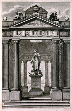 La Reine des Arts, ou de l'architecture des ordres de colonnes, vue par Abraham Bosse en 1664.