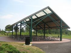 RCP Shelters Manufactured Liberty State Park Pavilion in Jersey City