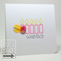 Snappy Stampin w/ Arielle: WISH BIG / PDC #178...
