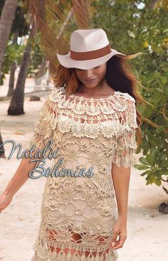 Crochet dress occasion exquisite lace classy wedding royal luxury prom MADE TO ORDER