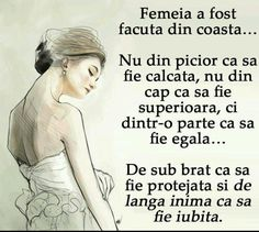 Femeia a fost facuta din coasta barbatului. My Love Poems, Love Quotes, Motivational Quotes, Inspirational Quotes, Daughter Quotes, Bible Verses Quotes, Christian Life, True Words, Life Lessons
