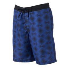 Men's Speedo Geometric Diamond E-Board Shorts