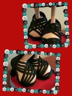 Zapatos chica hechas por ( el taller de la madrina)